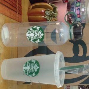 Nice Starbucks cup set